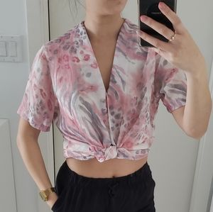 Vintage Top. Summery and Lightweight